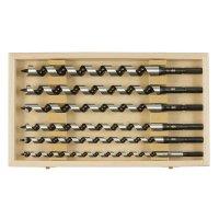 Jeu de mèches de tarière à bois Fisch, 6 pièces, 320 mm