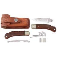Hiro Folding Knife Kit Suminagashi, Cocobolo