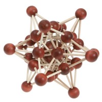 Interlocking Puzzle Atom lattice