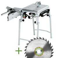 SET: Festool Bench-saw CMS-TS 55 R-Set + extra Universal Saw Blade W28