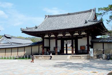 Horyu-ji-Tempel bei Nara