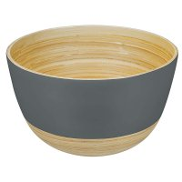 Bamboo Bowl BiMa, Large, Dark Taupe