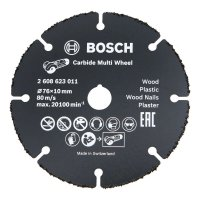 Disco de corte de carburo de Bosch Carbide Multi Wheel, Ø 76 mm