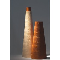 Segmented Floor Vase