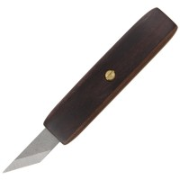 Pfeil Woodworking Knives, with Precious Wood Handle, Blade Width 15 mm