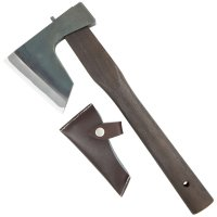 Japanese Universal Hatchet with Fire-hardened Handle