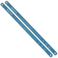 Replacement Blades for Hacksaw Length 250 mm, 24 Teeth per Inch