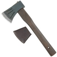 Japanese All-purpose Hatchet with Fire-hardened Handle