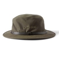 Filson Shelter Packer Hat, Otter Green, taille L