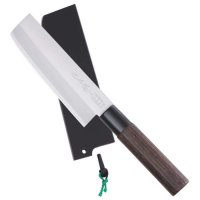 Saku Hocho, avec étui en bois, Usuba, couteau à légumes