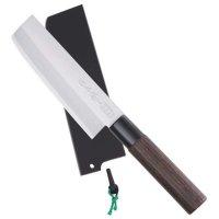 Saku Hocho, with Wooden Sheath, Usuba, Vegetable Knife