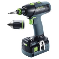 Festool Perceuse-visseuse sans fil T 18+3 Li 5,2-Plus