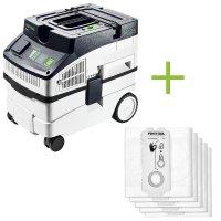 Absaugmobil CT 15 E + 5 Filtersäcke