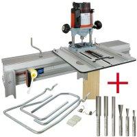 SET: WoodRat WR900, Cutter Set 1, PlungeBar C/F + MAFELL Hand Router Lo 65 Ec
