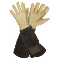Haws Ladies' Gardening Gloves with Leather Cuff