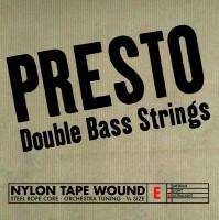 Presto Nylonwound Saiten, Bass 3/4, Satz