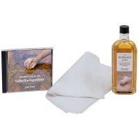 DICTUM Oberflächenset »Schellack« mit DVD, 3-teilig