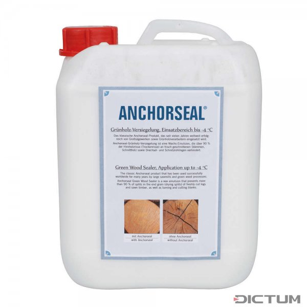 Anchorseal Green Wood Sealer, Application up to -4 °C, 5 l