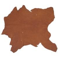 Elk Leather, Medium Brown, 18-19 sq. ft.