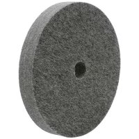 Disco di lucidatura in feltro, feltro di lana melange, dritto