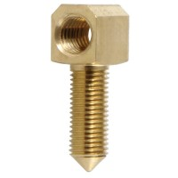 Brass Eyelet, Thick Shaft, Metric Thread, Cello, 4 x 6 mm