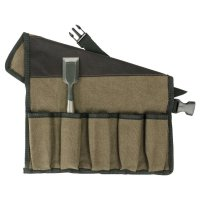 Cotton Tool Roll, 10 Pockets
