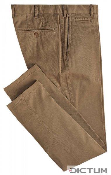 Herrenhose Cotton-Drill, khaki, Größe 48