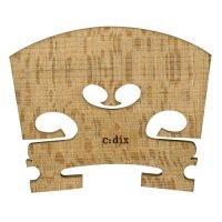 c:dix Nr. 13 Steg, gewölbt, roh, härtebehandelt, Violin 4/4, 41 mm