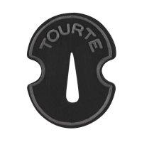 Sourdine caoutchouc Tourte, forme violon, violon