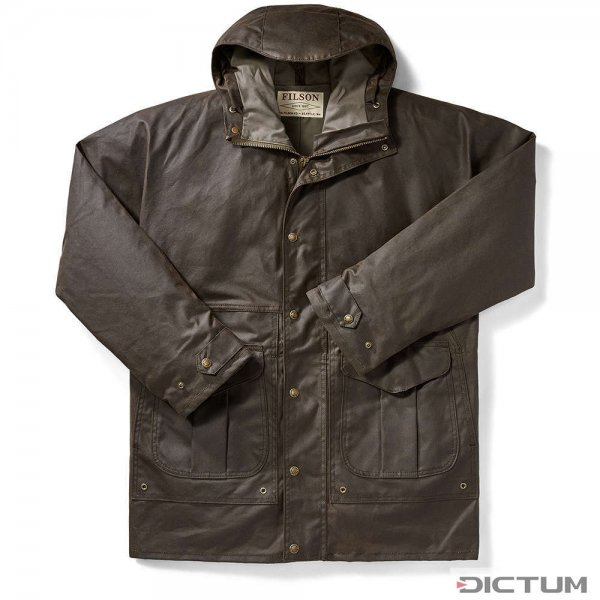 Filson All-Season Raincoat, Orca Gray, rozmiar XL