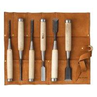 Ciseaux à bois DICTUM Oire Nomi, jeu de 6 pièces