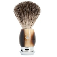 Mühle Shaving Brush Vivo, Horn Brown