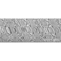 Damasteel DS93X Heimskringla Damascus Steel, 26 x 3.2 x 180 mm