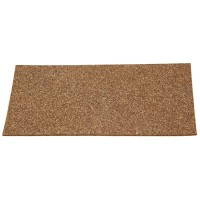 Rubber Cork Pads, 100 x 50 mm, 10 Pieces