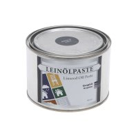 Pâte d'huile de lin, graphite