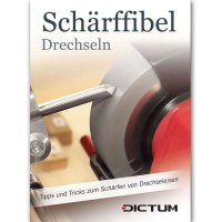 DICTUM Schärffibel Drechseln - Deutsch