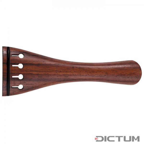 Tailpiece Tulip Model, Rosewood, Black Fret, Cello 3/4, 214 mm