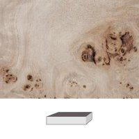 Pappel Maser, 150 x 40 x 40 mm