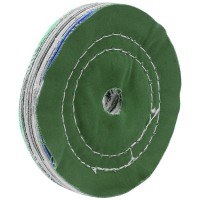 Buffing Wheel, Multi-coloured Cloth