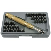 Automatic Punch Set with 26 Letters and Numbers