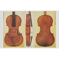 Póster, violín, Giuseppe Guarneri del Gesù, »Kreisler« 1733