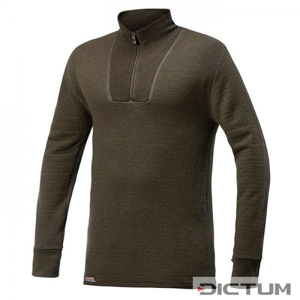 Sweter Woolpower, zielony, 400 g/m², rozmiar M