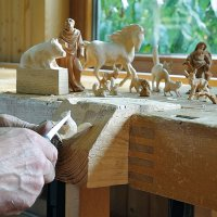 Figurative Wood Carving