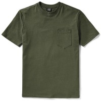 Filson Short Sleeve Outfitter Solid One-Pocket T-Shirt, Otter Green, taille M