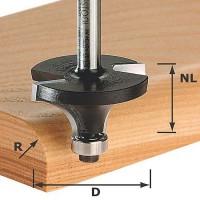 Festool Chamfer-ogee Cutter Shank 8 mm HW S8 D38,1/R12,7 KL