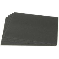 Papier abrasif Klingspor, résistant à l'eau, feuille, grain 600