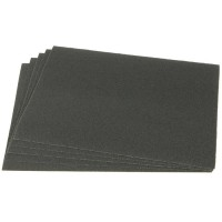 Klingspor Abrasive Paper, Waterproof, Sheet, Grit 600