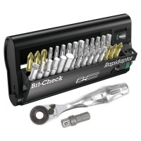 Wera Bit Ratchet with Bit-Check, 32-Piece Set