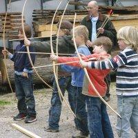 Bogenbau für Eltern und Kinder