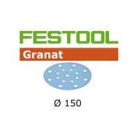 Festool Disque abrasif STF D150/16 P80 GR/50
